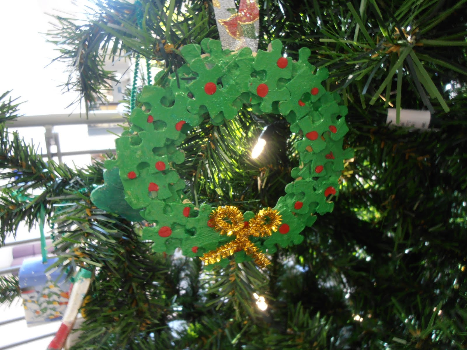 Homemade Christmas Ornaments - That Bloomin\' Garden