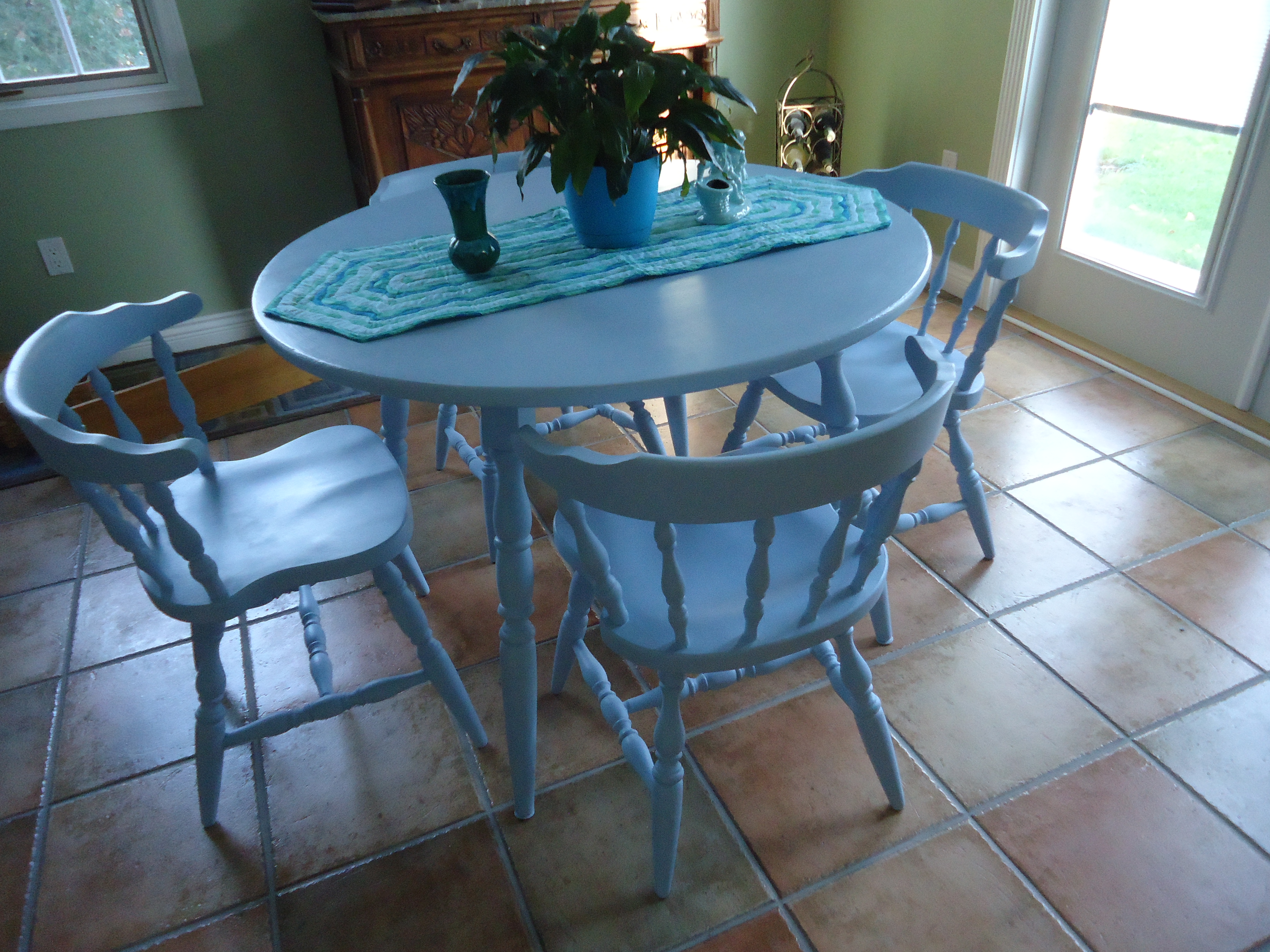 Hubby Says To Get It Through The Door, He Has To Remove Two Of The Table  Legs. Ugh! Are You Kidding? Lets Hope Nothing Goes Wrong With The ...