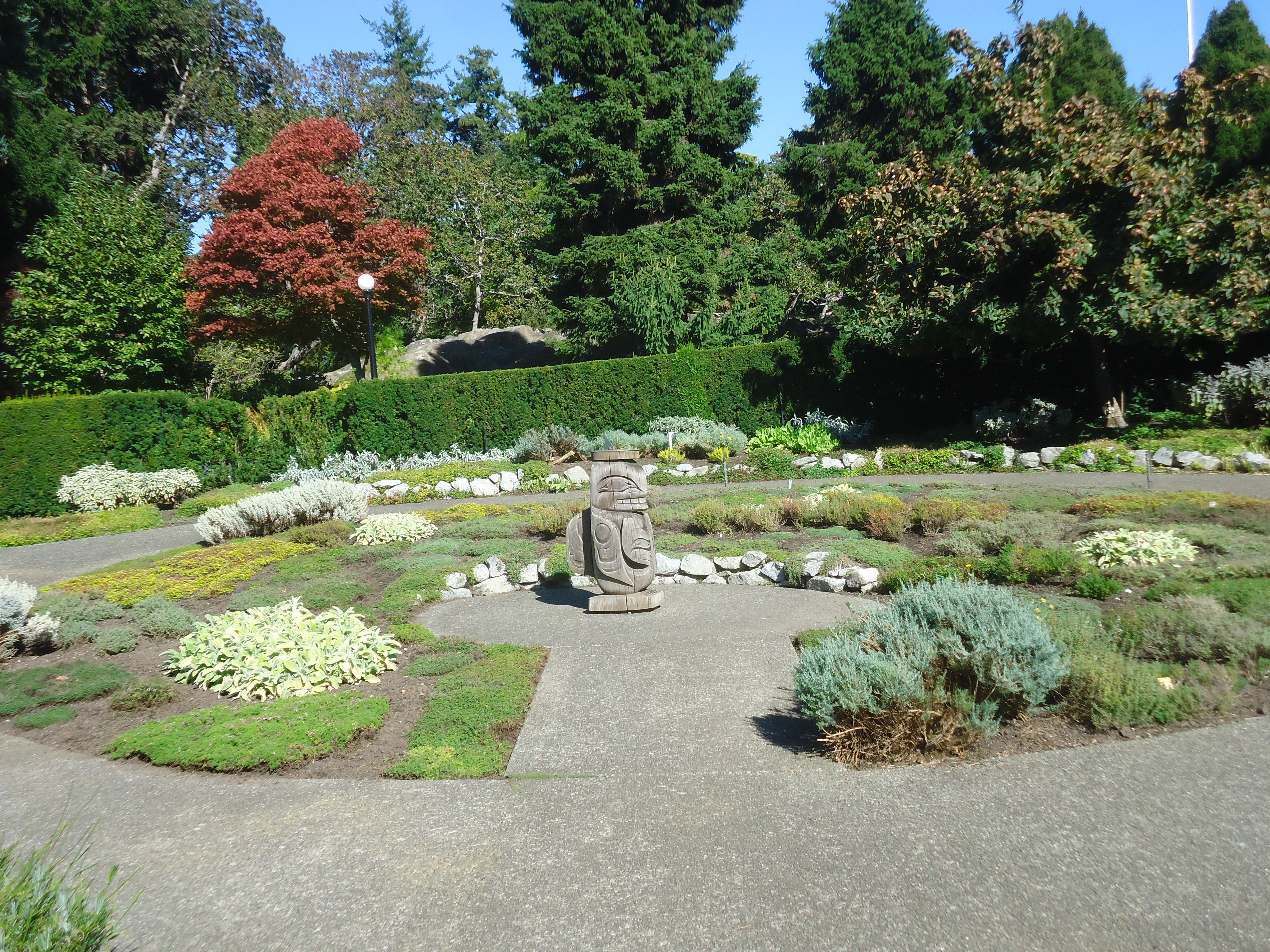 Government House Gardens in Victoria