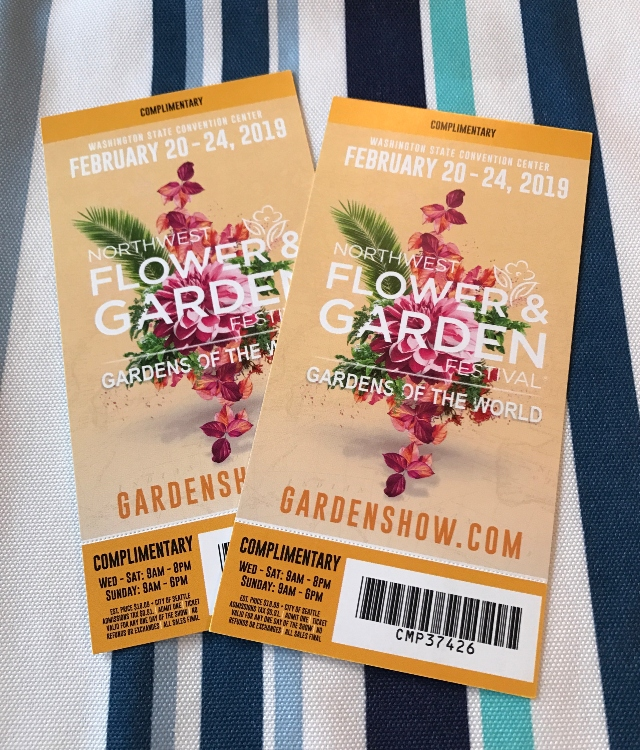It's Garden Show Ticket Giveaway Time!